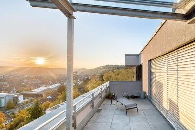 Wohnen am Esslinger Burghang